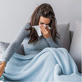 Förkylning och influensa är samma sak